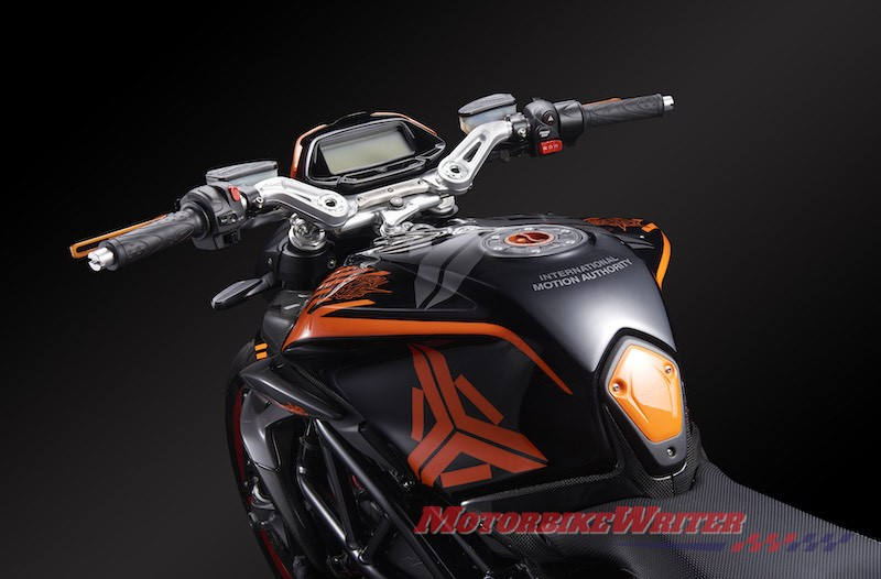 exclusivelimited-edition Dragster 800 RR
