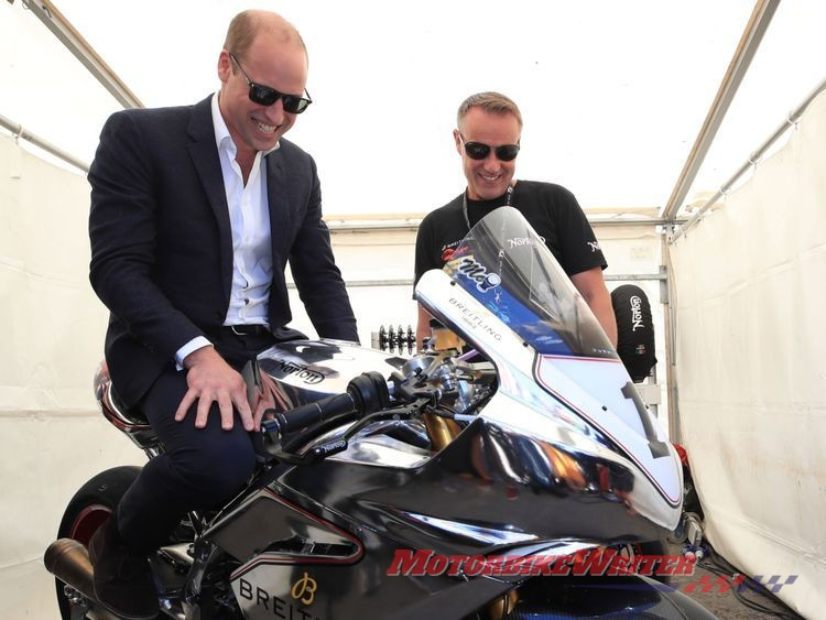 Prince William Isle of Man TT