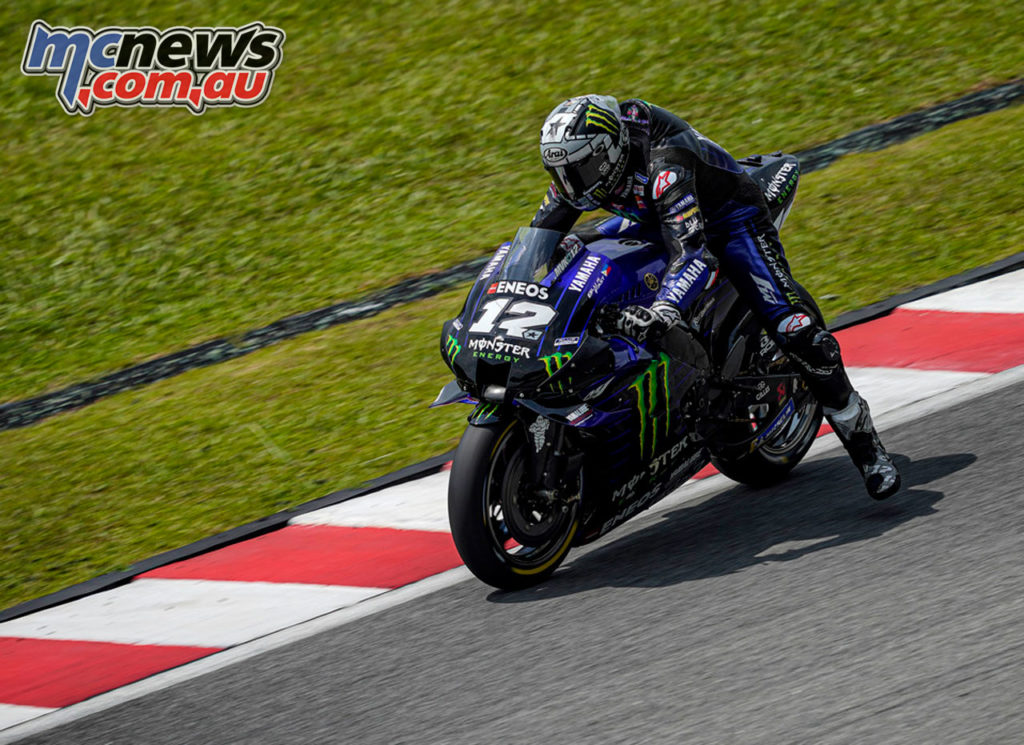 MotoGP Sepang Test Day Vinales