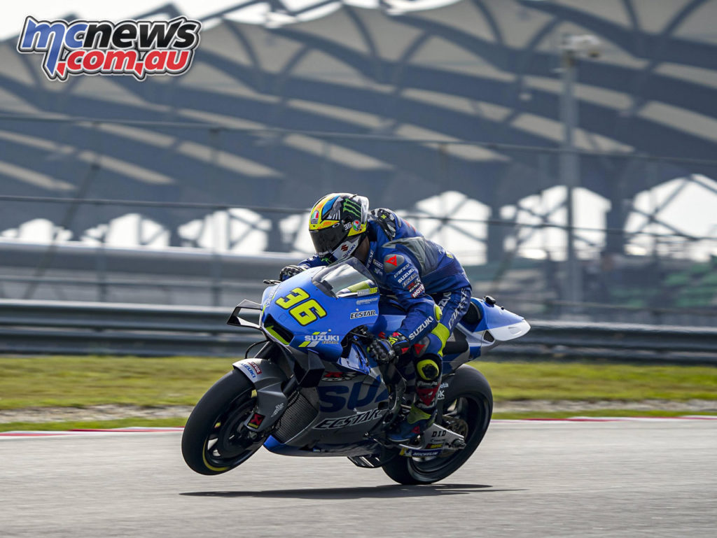 MotoGP Sepang Test Day Joan Mir