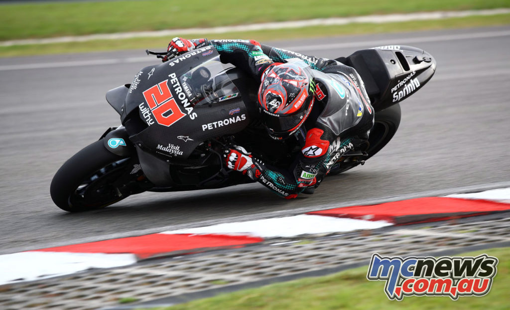 MotoGP Sepang Test Day Fabio Quartararo