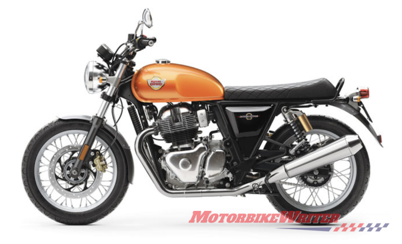 Royal Enfield has launched its 650cc twin-cylinder Interceptor naked and Continental GT cafe racer to fill a mid-weight gap