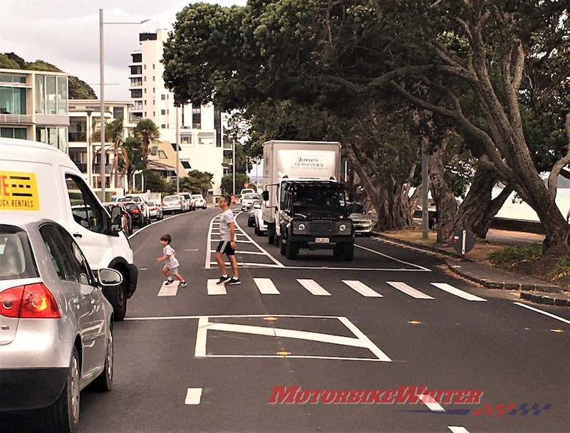 dominion Rd smart signs motorcycle safety