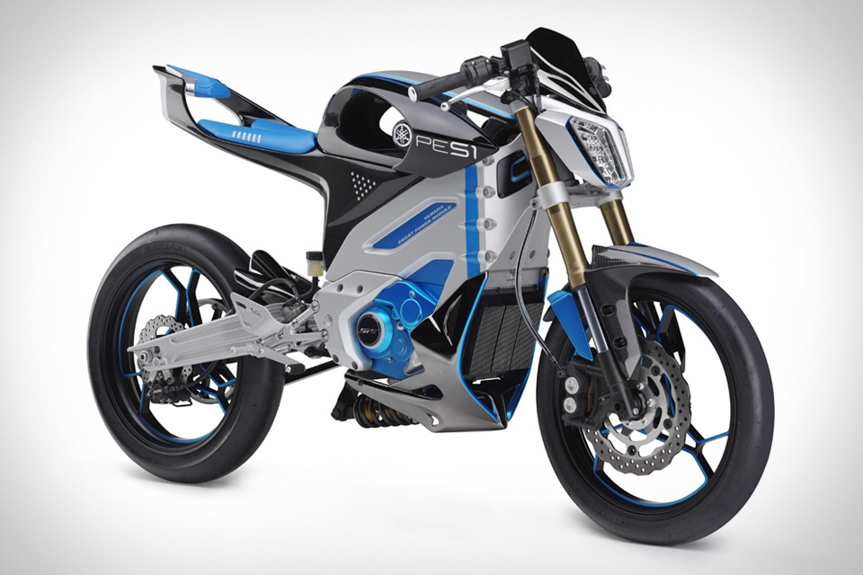 Yamaha PES1 electric motorcycles product standardise