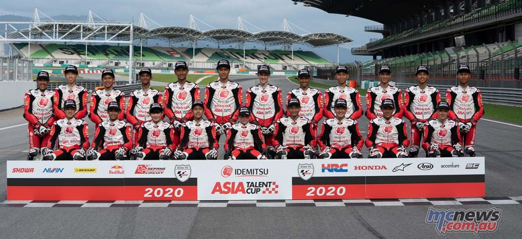 Asia Talent Cup SepangTest Riders