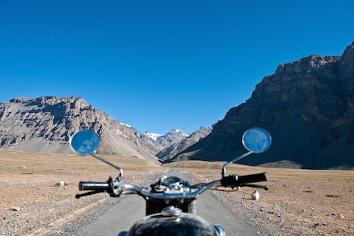 Nomadic Kinghts invites daredevil riders to join their first tour of the Cliffhanger track in the Himalayas (Photo by Iain Crockart)