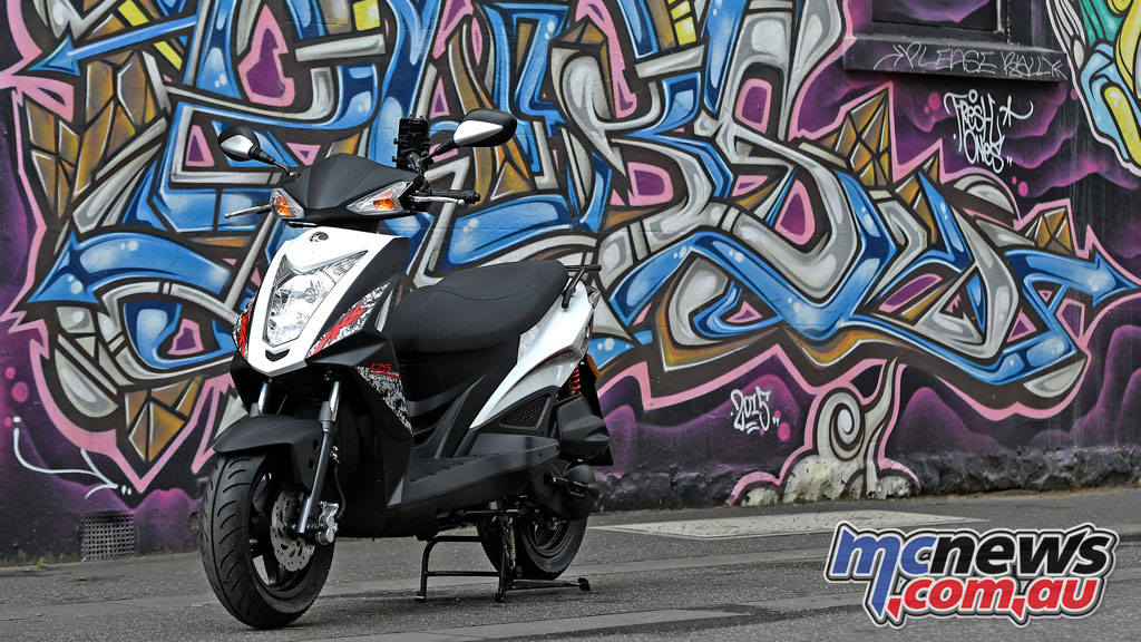 Kymco Agility RS scooter