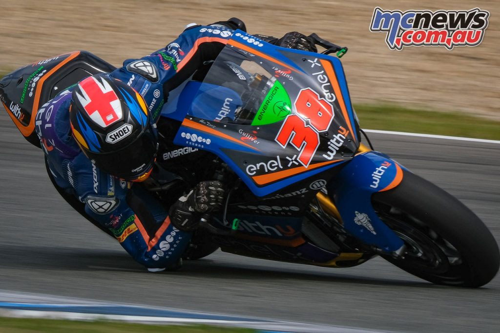 MotoE Jerez Test March Smith