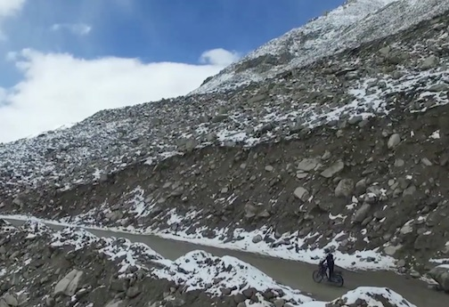 Royal Enfield Himalayan on test in the Himalayas