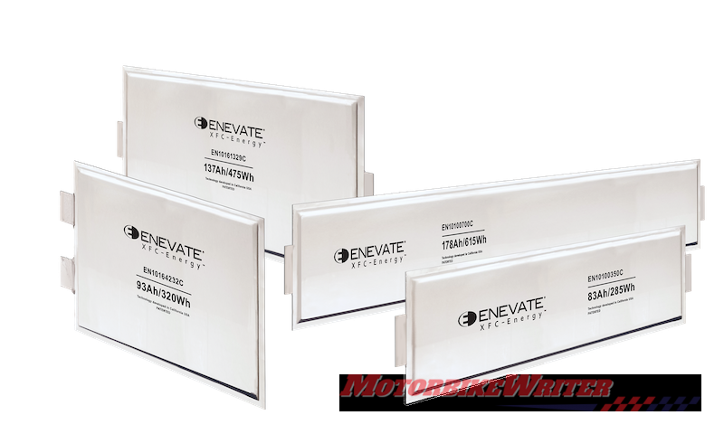 Enevate batteries