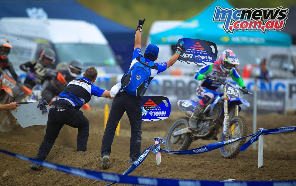 New Zealand MX Rnd Altherm JCR Yamaha MX Dylan Walsh
