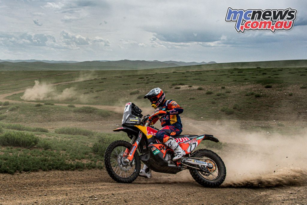 Silk Way Rally Stage Luciano Benavides