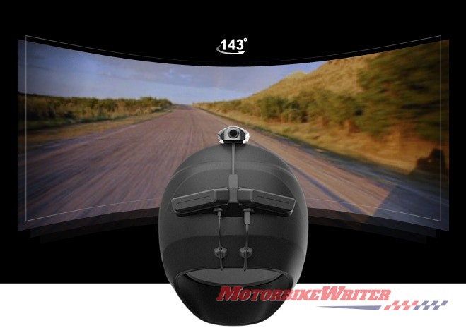 Revan dashcam HUD bluetooth unit