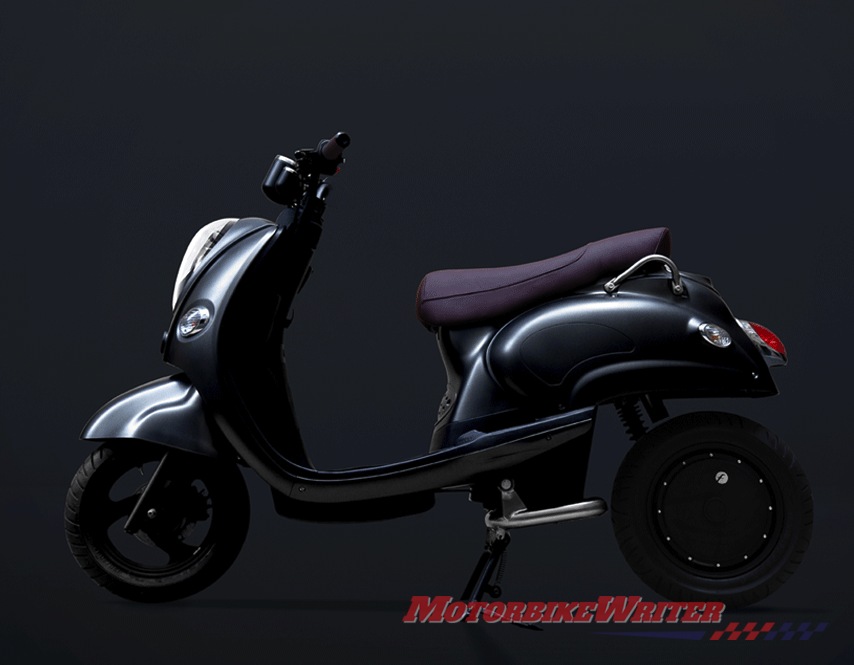 Fonzarelli X1 electric scooter