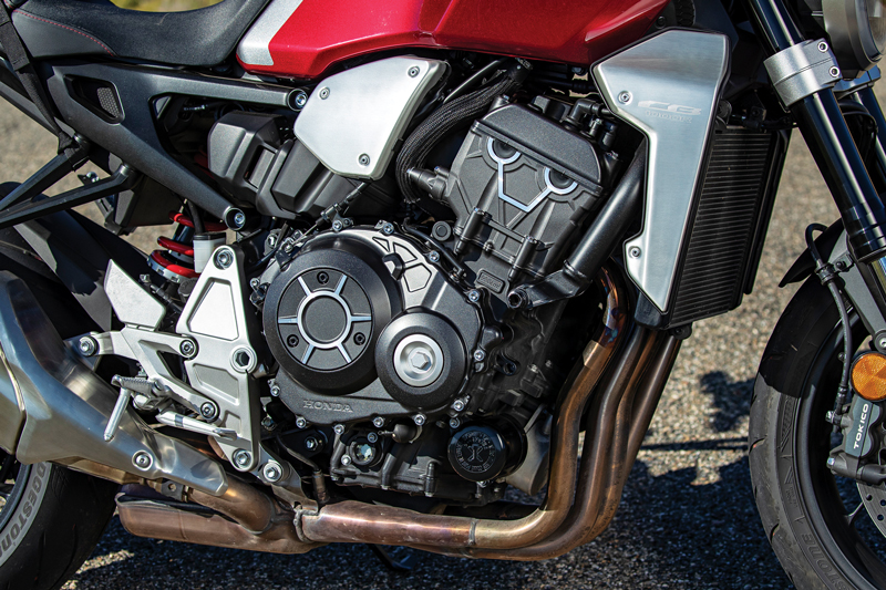 Honda CB1000R engine