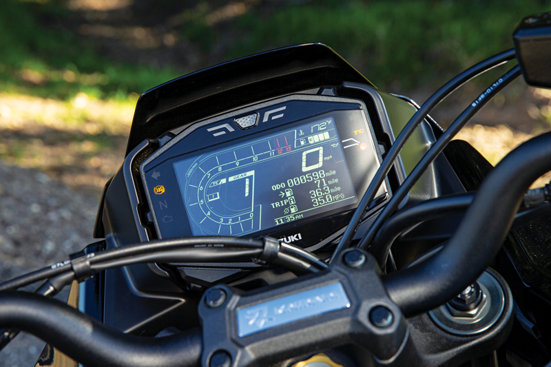 2020 Suzuki Katana display dash