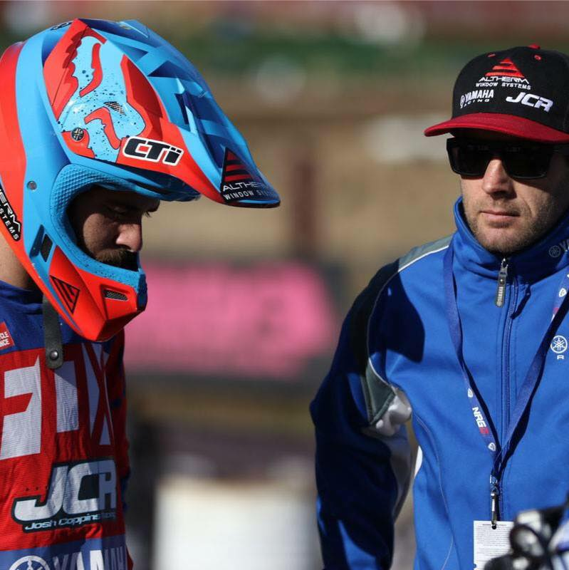 Jay Wilson with mentor Josh Coppins