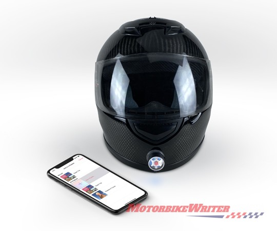 iASUS Rekon motorcycle intercom