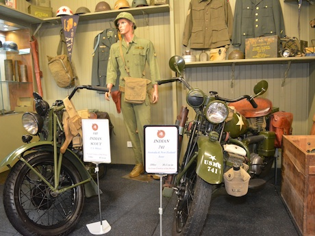 Indian military motorcycles