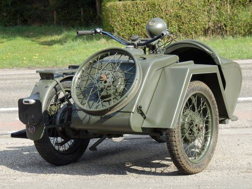 Gnome Rhone AX twin driven sidecar