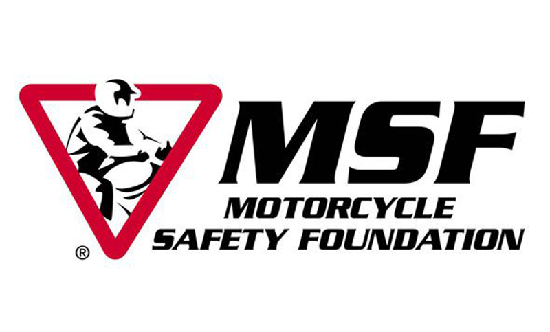 motorcycle safety foundation MSF logo