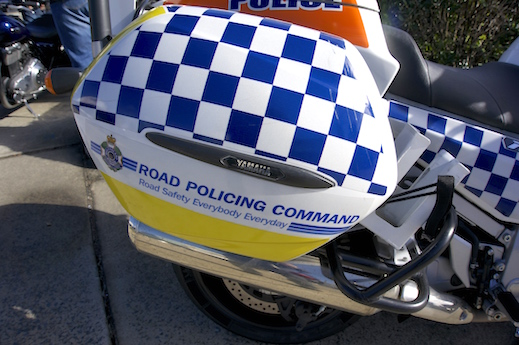 Police cops speed speeding sensation annual demerit