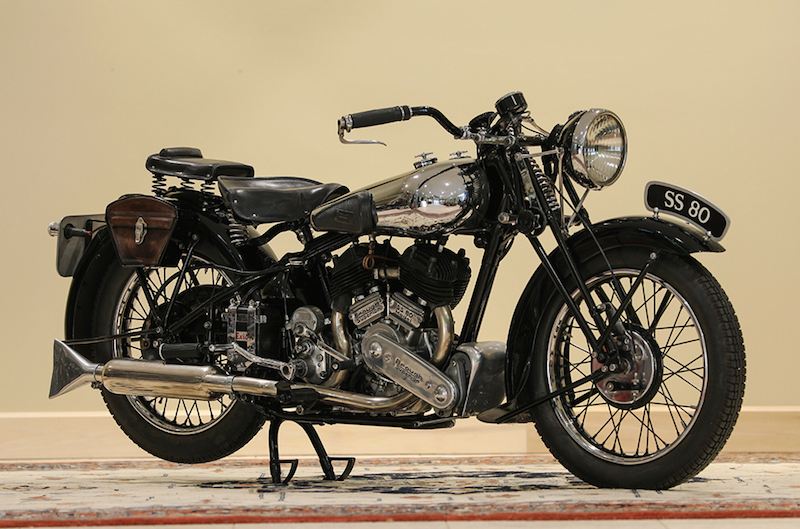 1939 Brough Superior SS80 vintage
