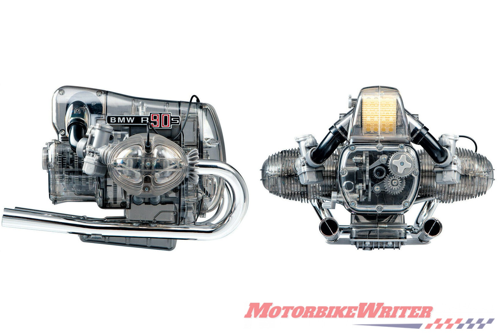 BMW R 90 S Flat twin Airhead boxer Engine scale Model