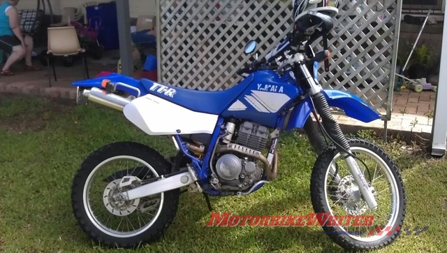 The little TTR250 that started it all