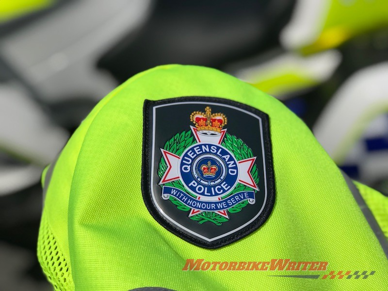 DayGlo Queensland Police witnesses single