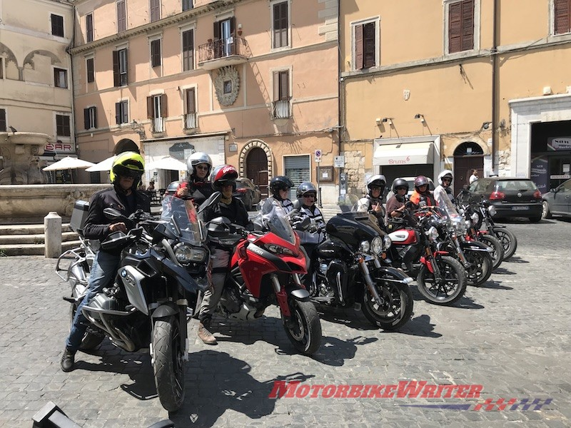 Enrico Grassi Hear the Road Motorcycle Tours Italy Tuscany and Umbria: Heart of Italy