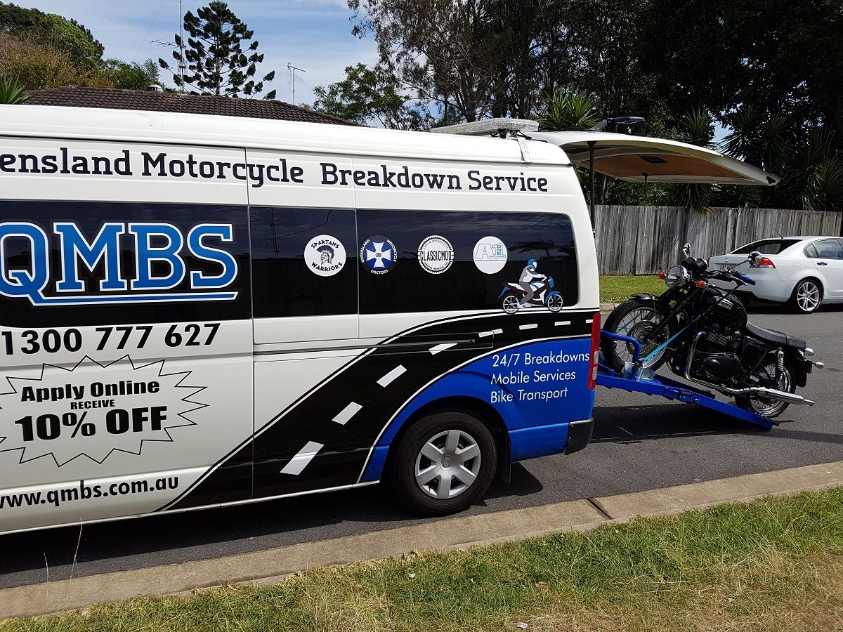 Queensland Motorcycle Breakdown Service tyre punctures cheap