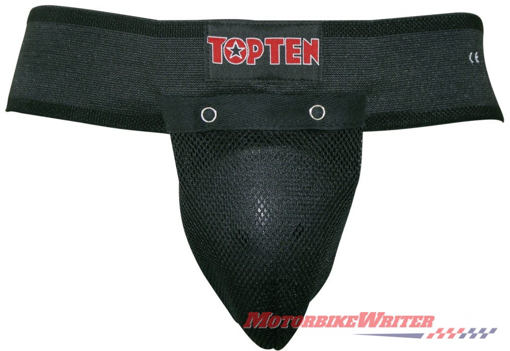 Triumph castrater groin