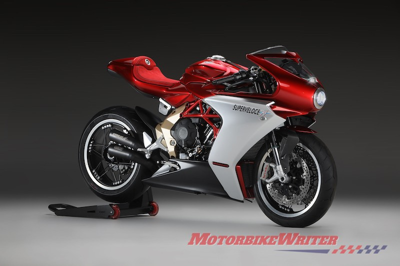 MV Agusta Superveloce Serie Oro model design