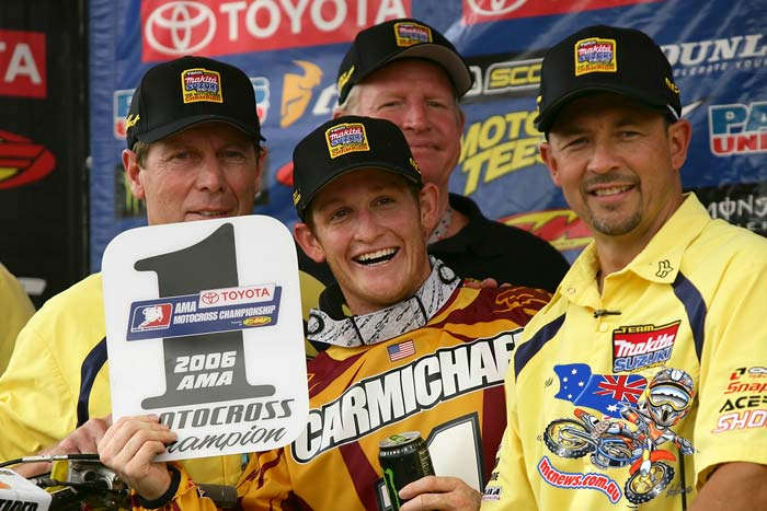 Ricky Carmichael pictured here in 2006