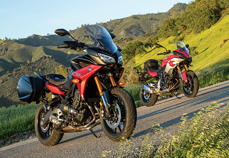 2020 BMW F 900 XR vs. Yamaha Tracer 900 Specs