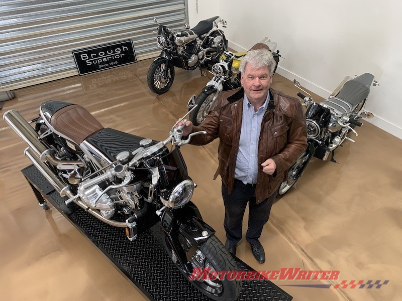 Brough Superior Fred Drake