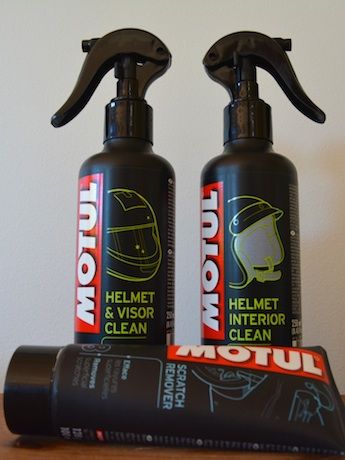 Motul motorcycle helmet cleaner