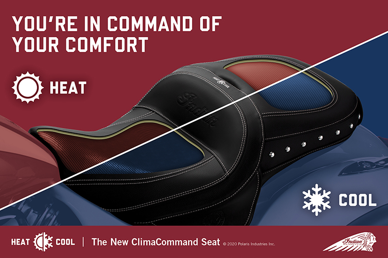 Indian ClimaCommand Classic Seat