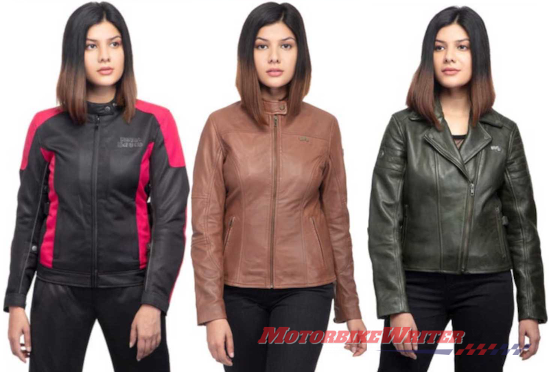 Royal Enfield vintage-look women's riding gear