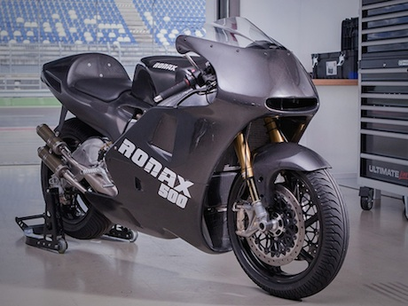 Ronax 500 two-stroke superbike engines fail