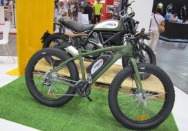 Ducati Scrambler electric bike 2020 mountain