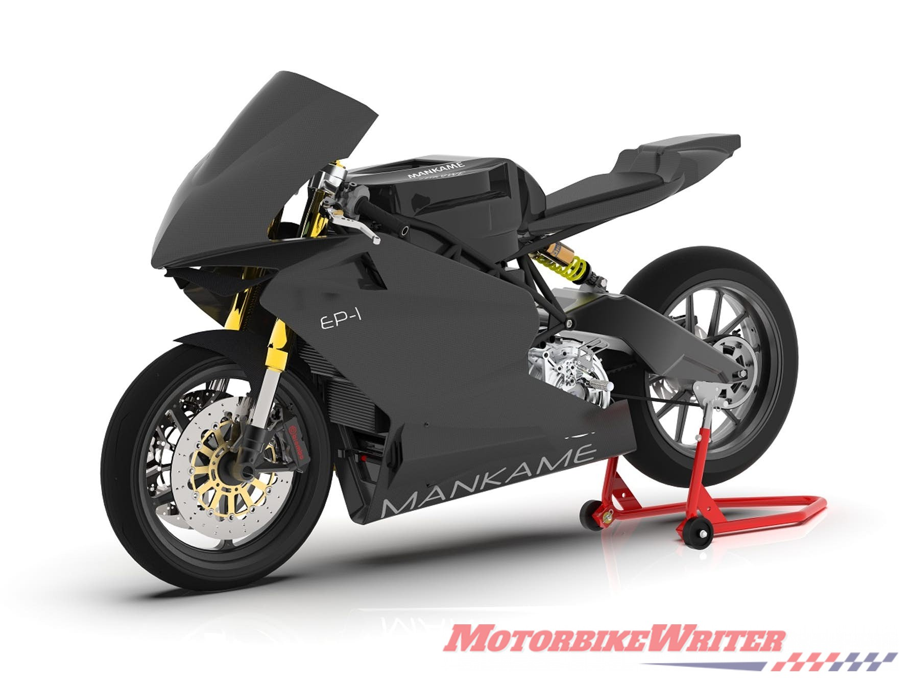 Mankame Motors EP-1 electric motorcycle with a claimed 480km range vector
