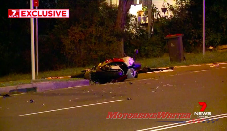 Molly Cahill hit run crash Sydney committed