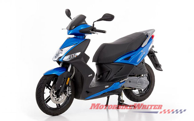 Kymco agility scooters