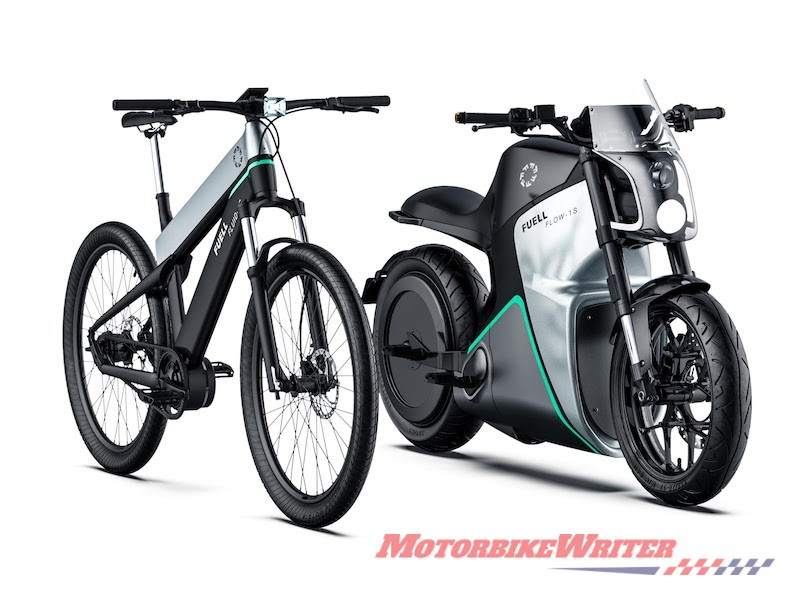 Fuell Flow and Fluid electric motorcycle
