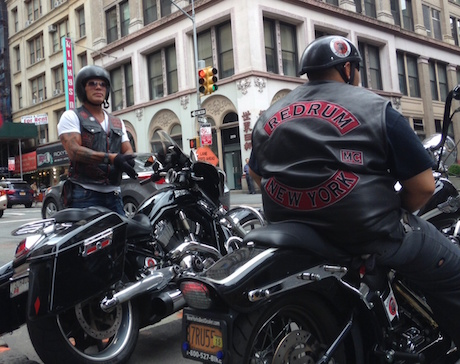 New York bikies Redrum motorcycle club revenue raising banned senate