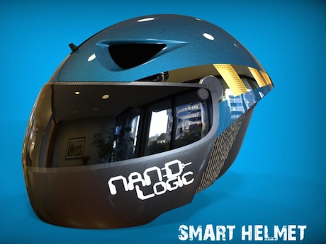 Nand Logic hi-tech smart helmet