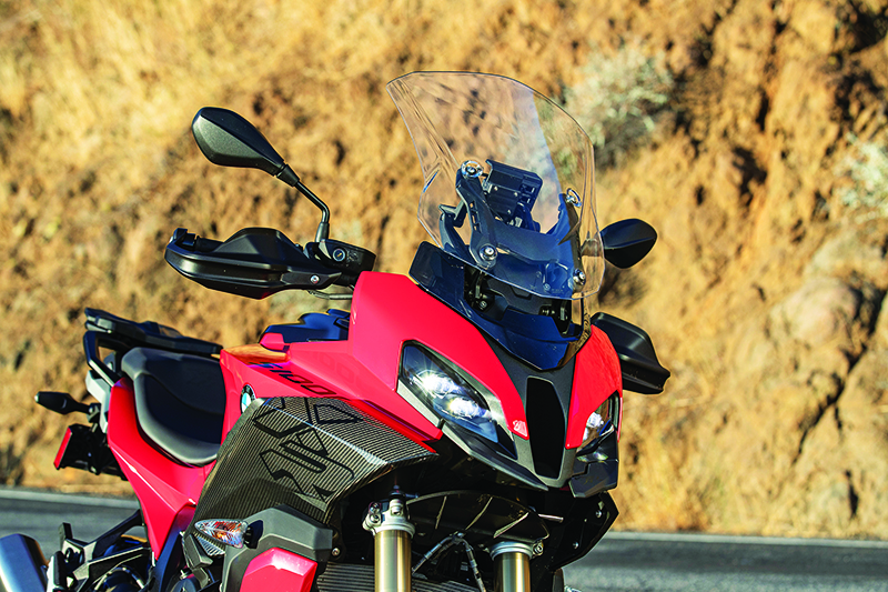 2020 BMW S 1000 XR Review Two Position Windscreen