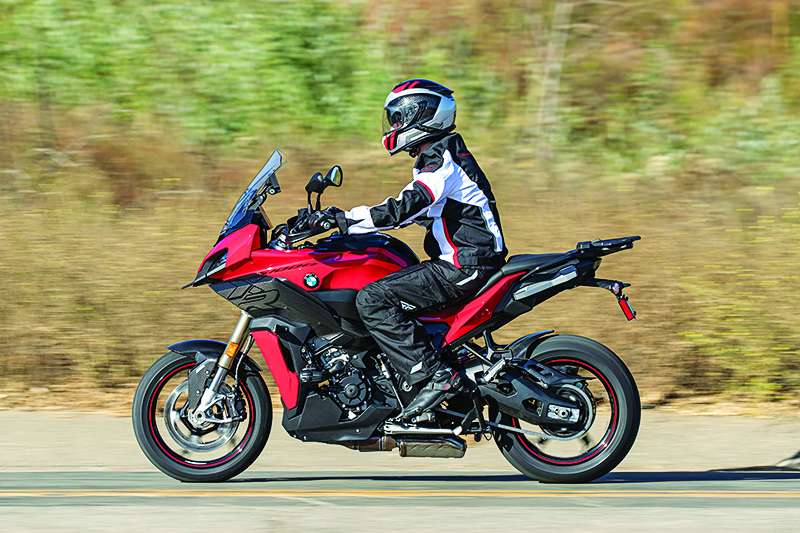 2020 BMW S 1000 XR Review Seat Height